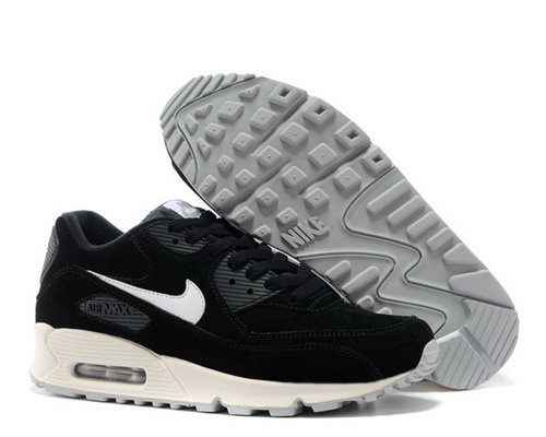 Nike Air Max 90 Mens Shoes Hot On Sale Black White New Zealand
