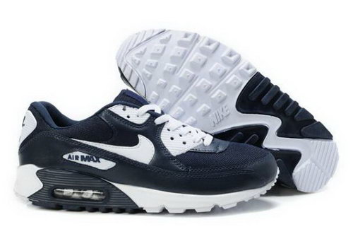 Nike Air Max 90 Mens Shoes Obsidian White Outlet Store