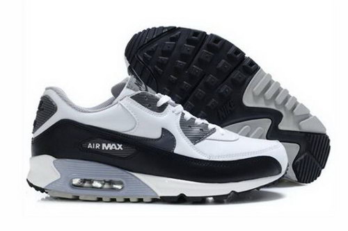 Nike Air Max 90 Mens Shoes White Black Cool Grey Czech