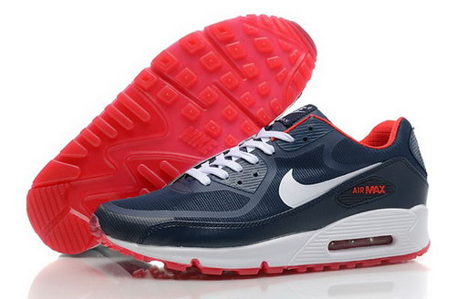 Nike Air Max 90 Prem Tape Mens Shoes Glowing Dark Gray White Red Uk