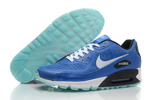 Nike Air Max 90 Prem Tape Mens Shoes Glowing Sky Blue White Poland