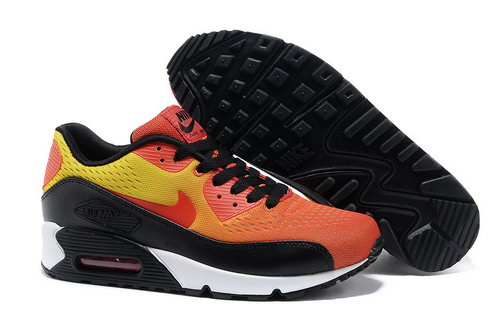 Nike Air Max 90 Premium Em Unisex Orange Black Running Shoes Outlet Online