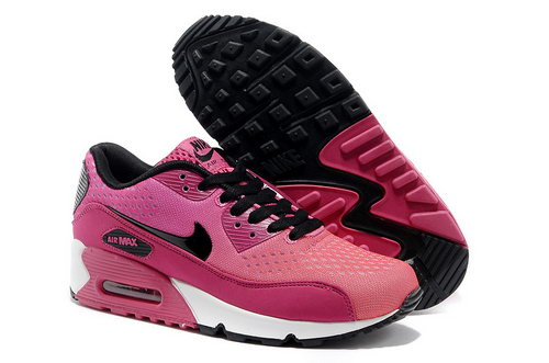 Nike Air Max 90 Premium Em Women Pink Black Running Shoes Hong Kong
