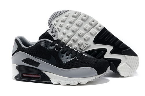 Nike Air Max 90 Prm Em Men Gray Black Casual Shoes Factory Store