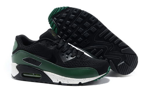 Nike Air Max 90 Prm Em Men Green And Black Casual Shoes Outlet Online