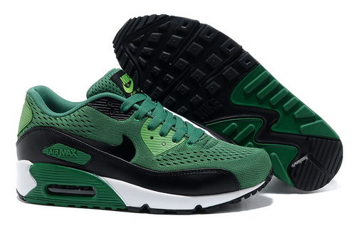 Nike Air Max 90 Prm Em Men Green Black Casual Shoes On Sale