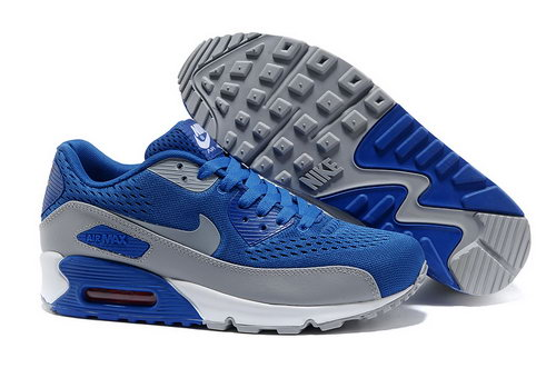 Nike Air Max 90 Prm Em Unisex Blue Gray Casual Shoes France