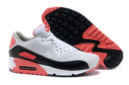 Nike Air Max 90 Prm Em Unisex White Pink Casual Shoes Coupon