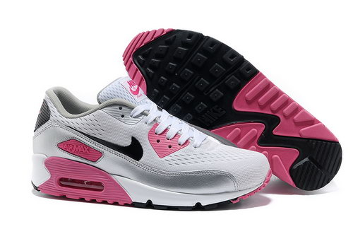 Nike Air Max 90 Prm Em Women White And Pink Casual Shoes Coupon Code