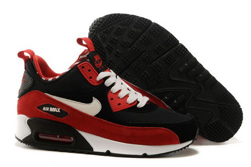 Nike Air Max 90 Sneakerboots Prm Undeafted Mens Shoes Red Black White Special New Zealand