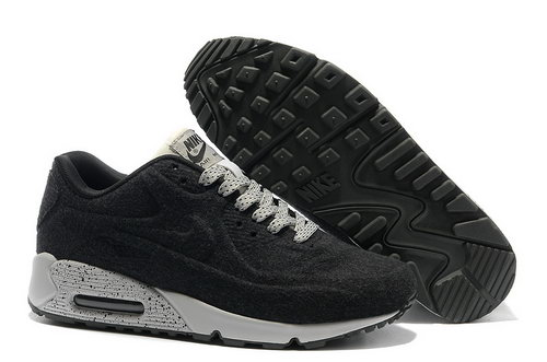 Nike Air Max 90 Vt Men Black White Running Shoes Outlet Store