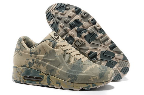 Nike Air Max 90 Vt Unisex Colorful Beige Green Running Shoes Discount