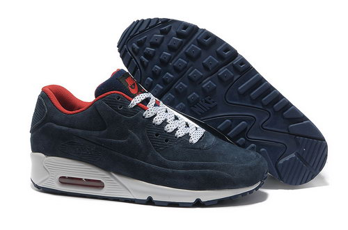 Nike Air Max 90 Vt Unisex Dark Blue White Running Shoes Ireland