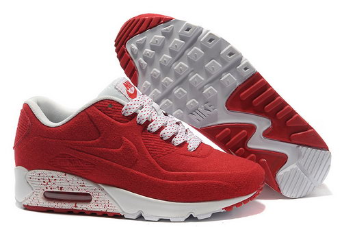 Nike Air Max 90 Vt Unisex Red White Running Shoes Online