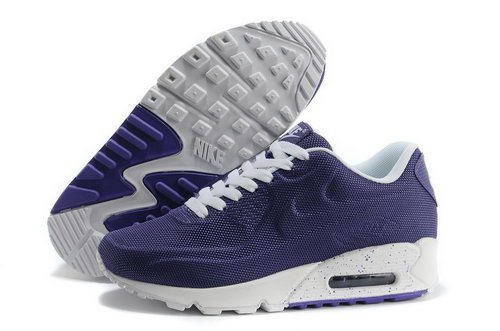 Nike Air Max 90 Vt Women White Purple Running Shoes Netherlands