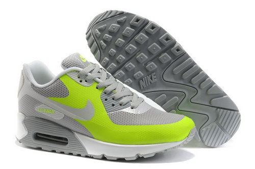 Nike Air Max 90 Womens Green Grey Outlet Store