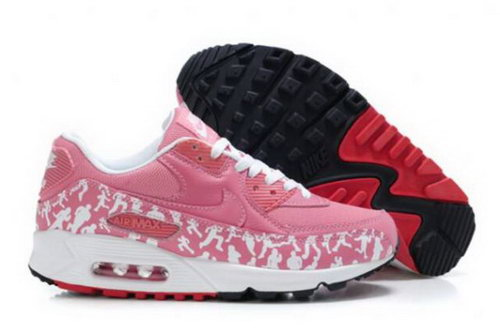 Nike Air Max 90 Womens Shoes Pink White Outlet