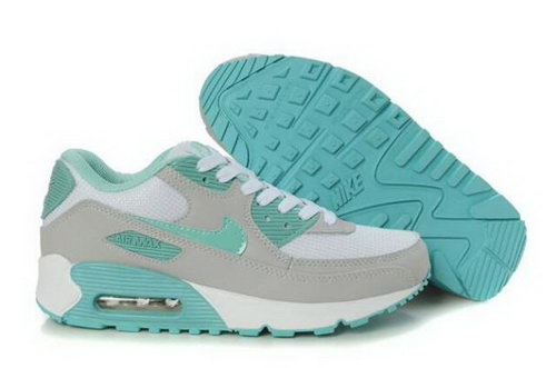 Nike Air Max 90 Womens Shoes Wolf Grey Fresh Water Factory Store