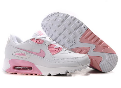 Nike Air Max 90 Womens White Pink On Sale