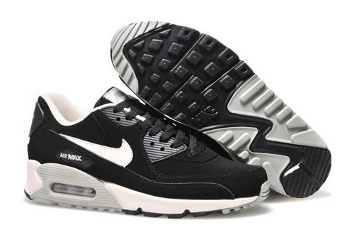 Nike Air Max 90 Womens Shoes 2015 New Releases Black Gray Silver Review