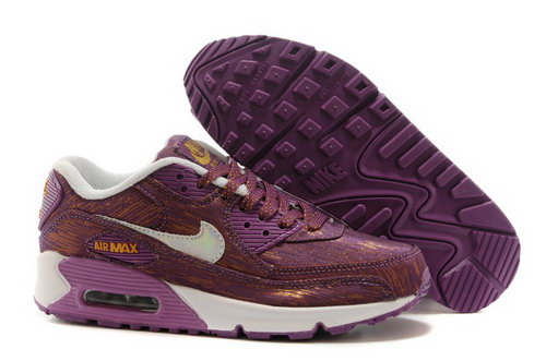 Nike Air Max 90 Womens Shoes Dark Rose Red White Special Low Cost