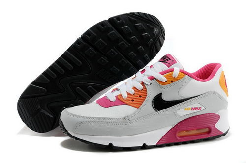 Nike Air Max 90 Womens Shoes White Pink Discount Code