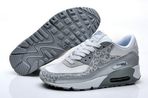 Nike Air Max 90 Womens Shoes White Siler New Discount