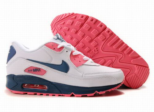 Nike Air Max 90 Womens Shoes Wholesale Blue Orange Linen Black Hong Kong