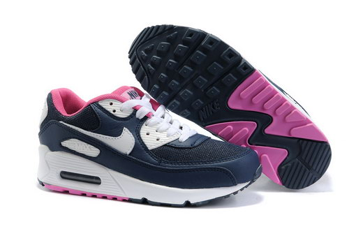 Nike Air Max 90 Womens Shoes Wholesale White Brown Pink Portugal