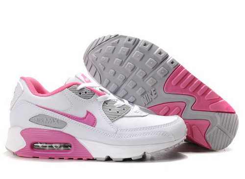 Nike Air Max 90 Womens Shoes Wholesale White Pink Gray Australia