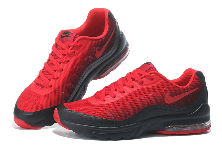 Nike Air Max 95 Mens Shoes Black Red On Sale
