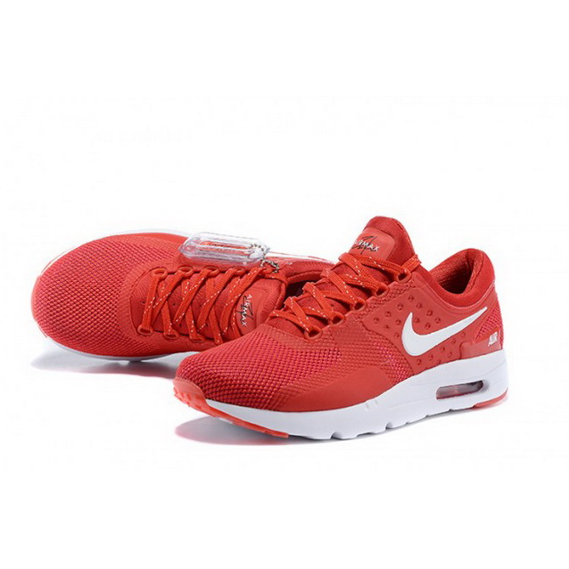 Mens Nike Air Max Zero Qs Red White