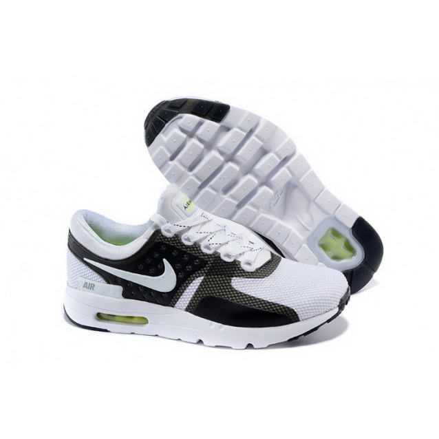 Mens Nike Air Max Zero Qs White Black