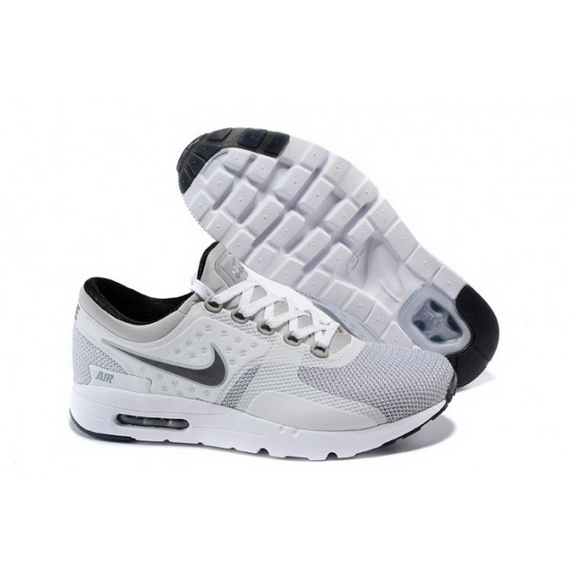 Mens Nike Air Max Zero Qs White Light Gray