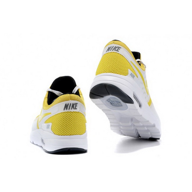 Mens Nike Air Max Zero Qs Yellow White