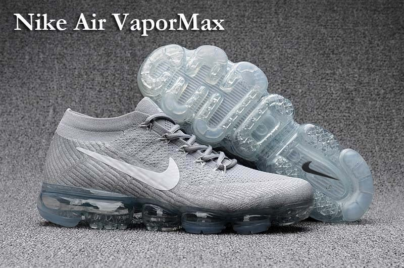 Nike Air VaporMax 2018 Women's Running Shoes Silver