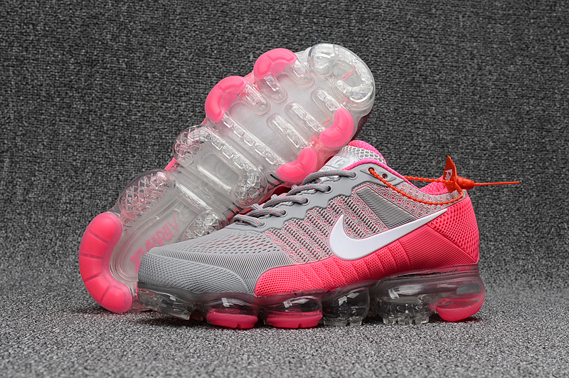 Nike Air VaporMax KPU 2018 Women's Grey Pink