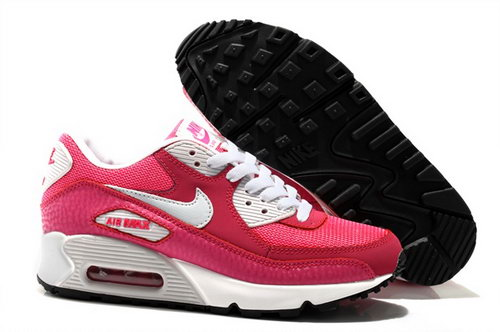 Nike Air Max 90 Womens Shoes New Special Peach Red Pink White Wholesale