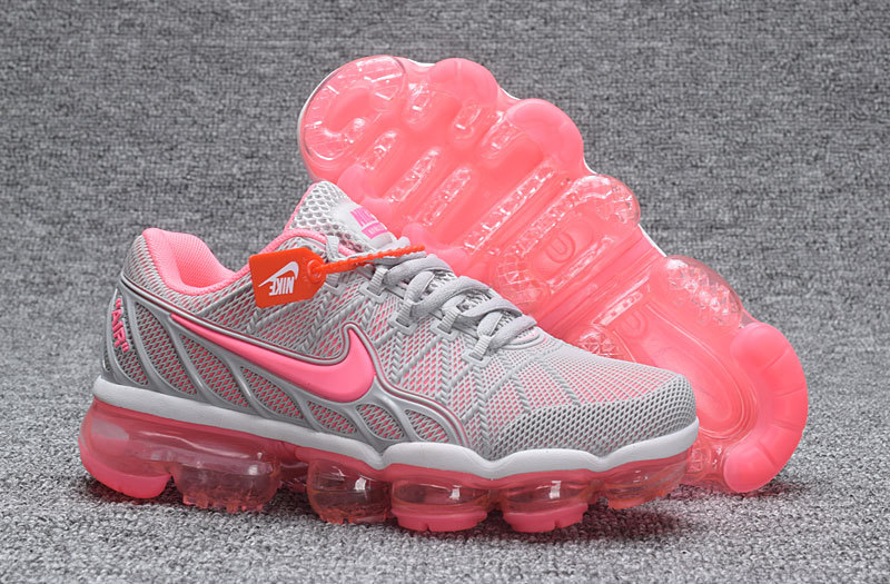 Nike Air VaporMax KPU 2018 Women's Grey Pink Onsale