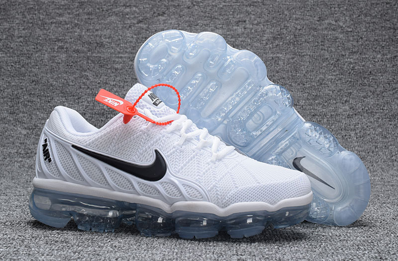 Nike Air VaporMax KPU 2018 Women's White Black Onsale