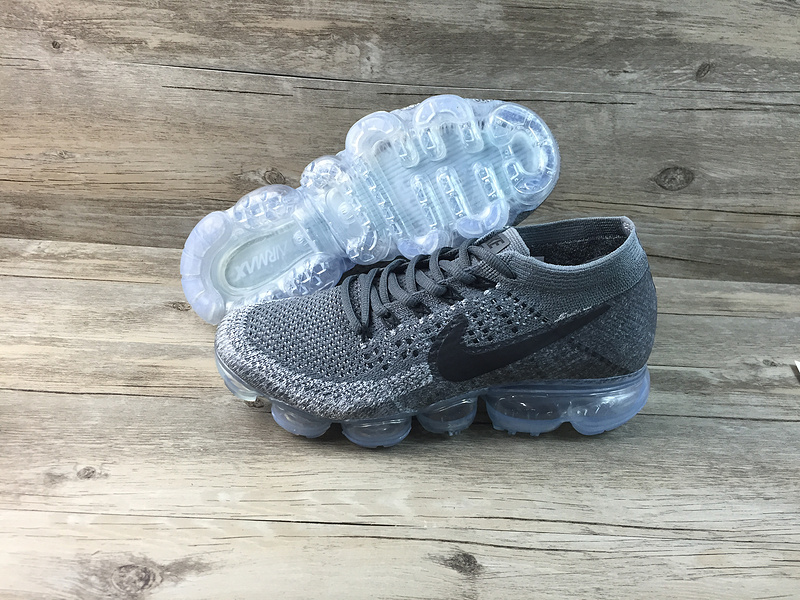 Nike flyknit Air VaporMax 2018 Men's Running Shoes Black