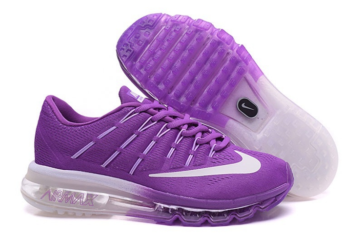 Nike Air Max 2016 806771 025 Light Purple White Running Shoes Womens