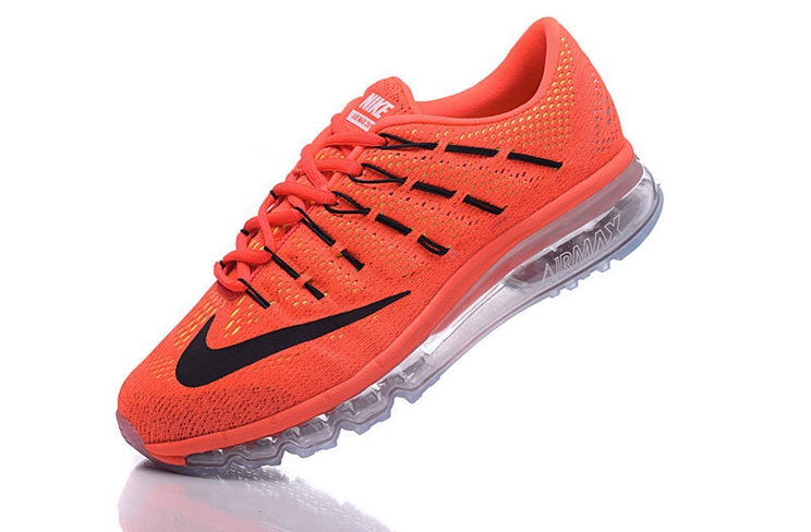 Nike Air Max 2016 806771 600 Bright Crimson Black University Red Sneakers For Man