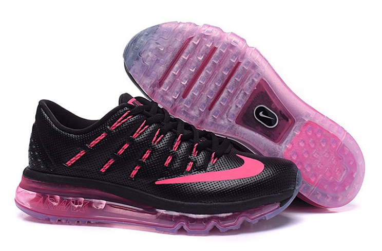 half off 56640 72e37 Nike Air Max 2016 806772 002 Sneakers Woman Black Pink