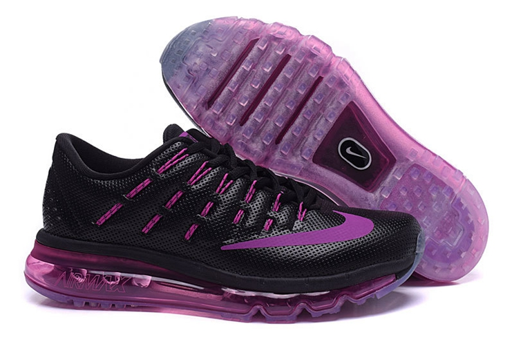 Nike Air Max 2016 806772 008 Women's Black Purple Trainers