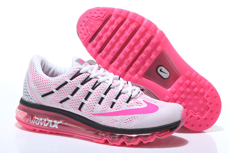 Nike Air Max 2016 For Woman Running Shoes White Pink 806771 106