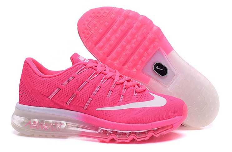 Nike Air Max 2016 For Women's Trainers Pink White 806771 105