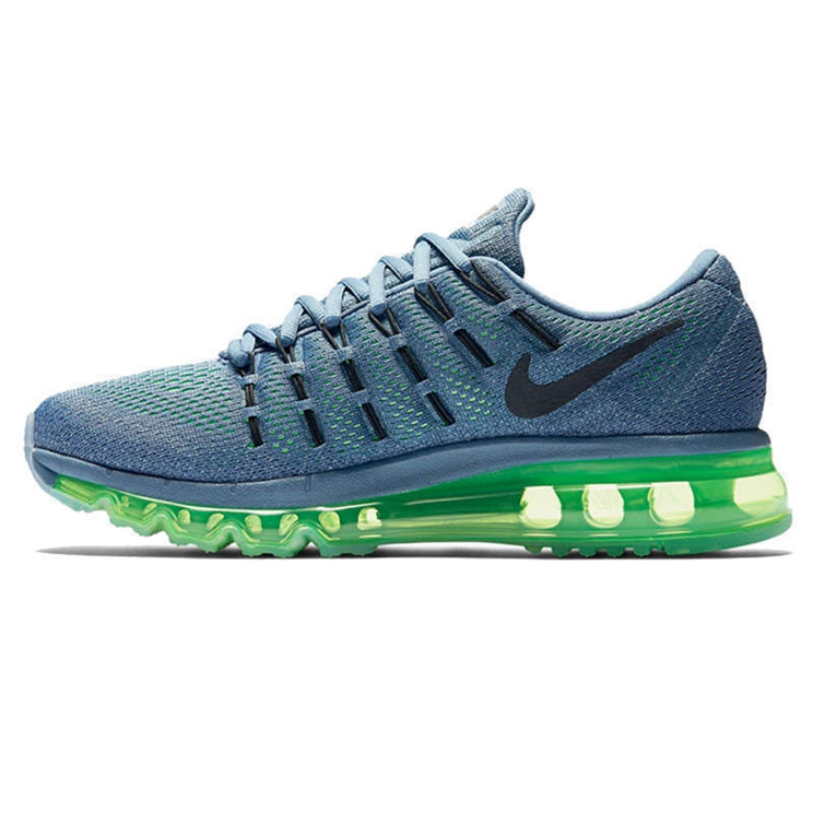 Nike Air Max 2016 Ocean Fog Black Voltage Green Shoe Women's 806772 403