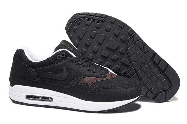 Best Price Men's Nike Air Max 1 Shoes Black Coffee Online Retail
