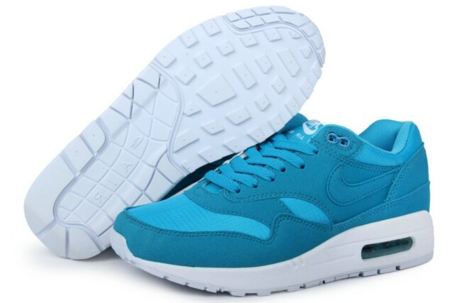 Best Price Men's Nike Air Max 1 Shoes Blue Light Blue Online Retail